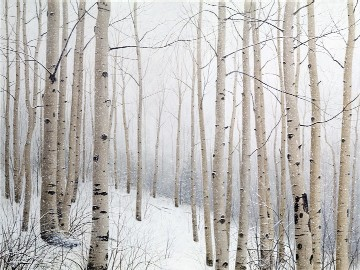 Alexander Volkov Collector's Edition - Snow Aspens