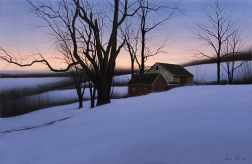 Alexander Volkov - Winter Homestead