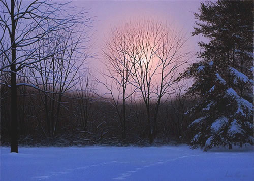 Alexander Volkov - Winter Moonrise