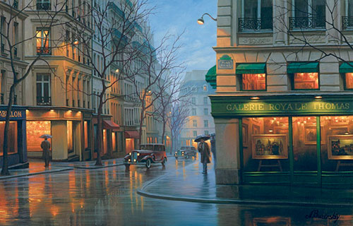 Alexei butirskiy limited editions galerie royale thomas for Art of russian cuisine