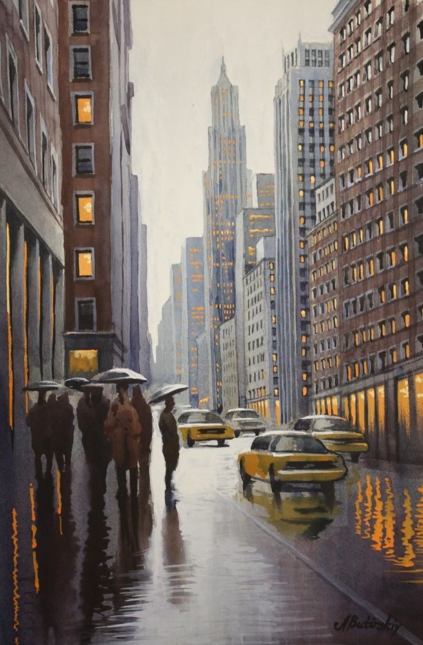 Alexei Butirskiy - Rush Hour - Manhattan