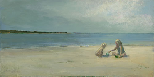 Anne Packard - Playing in the Sand