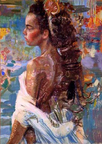 Charles Dwyer - Island Muse