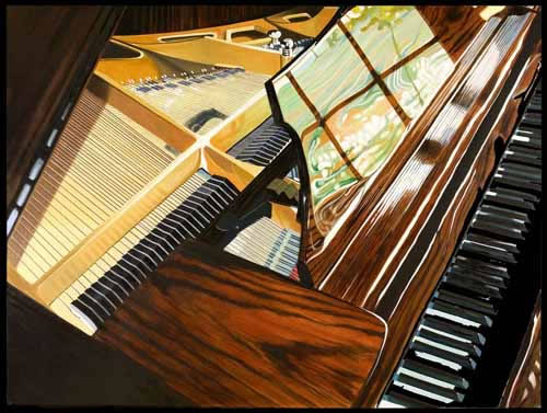 Denard Stalling Limited Edition Giclee - Piano