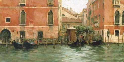 Dmitri Danish Limited Edition Giclee - A Grand Canal
