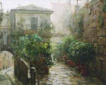 Dmitri Danish Limited Edition Giclee - Morning Mist