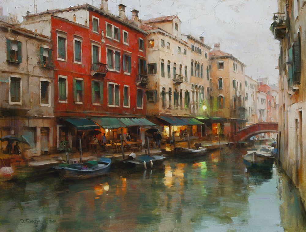 Dmitri Danish - October, Venice