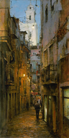 Dmitri Danish Limited Edition Giclee - Old Lisbon