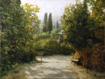 Dmitri Danish Limited Edition Giclee - Shady Path