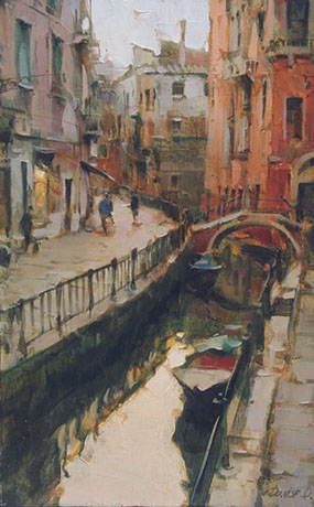Dmitri Danish Limited Edition Giclee - Venice Morning II