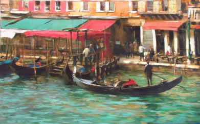 Dmitri Danish Limited Edition Giclee - Water Taxi