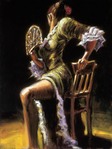 Fabian Perez - Flamenco Dancer II