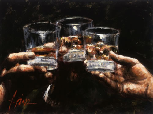 Fabian Perez - Study for Whiskey