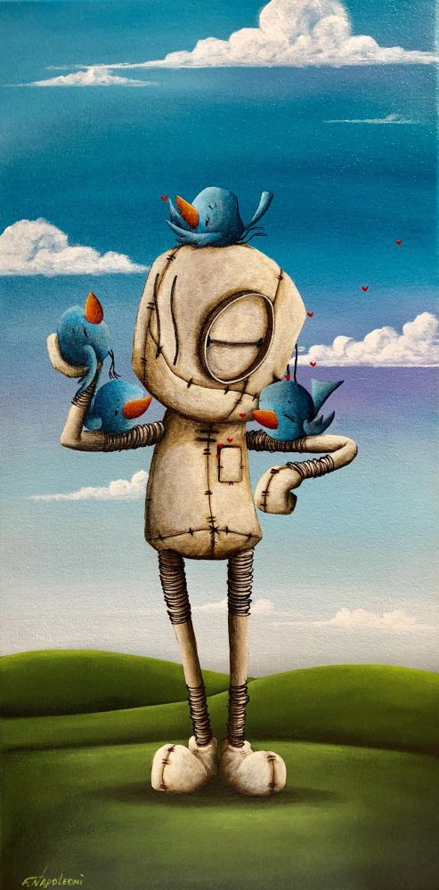 Fabio Napoleoni - I'm there For You, canvas