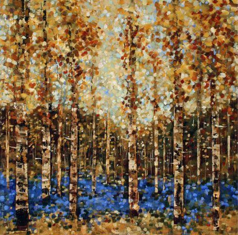 Fiona Hoop - Birches VII