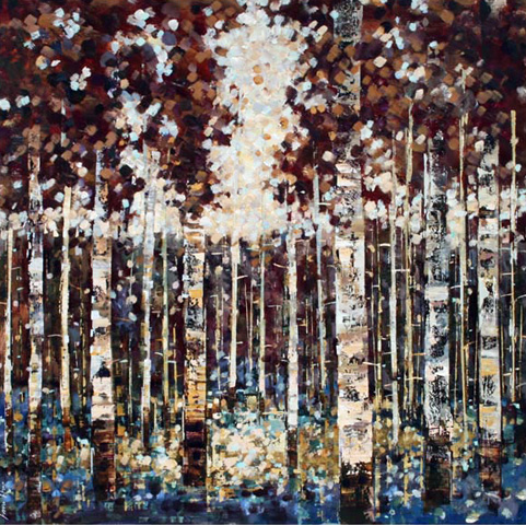 Fiona Hoop - Birches V