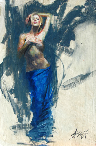 Henry Asencio Limited Edition Giclee - Azure