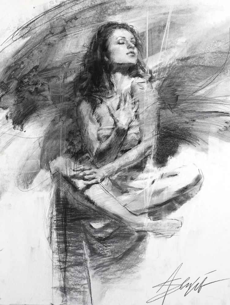 Henry Asencio - Ethereal Solace Study