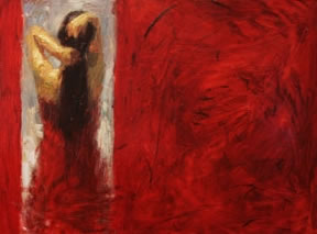 Henry Asencio Limited Edition Giclee - Red Door