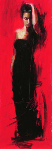Henry Asencio Limited Edition Giclee - Scarlet Beauty