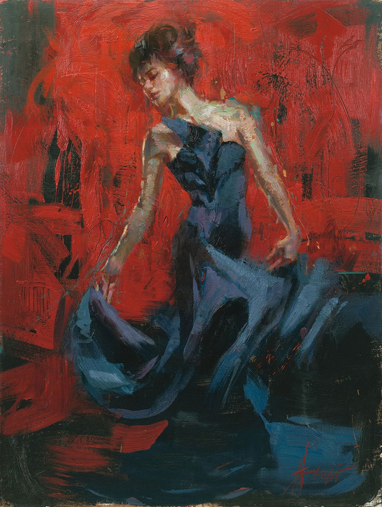 Henry Asencio Limited Edition Giclee - The Dancer
