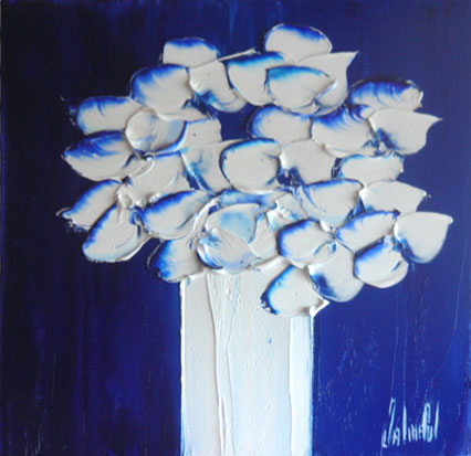 JalinePol's Original Oils on Canvas - Eternal Whiteness