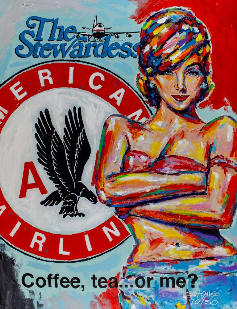 John Stango - American Airlines the Stewardess