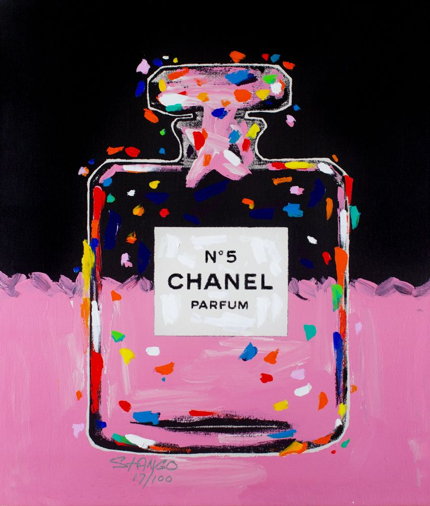 John Stango - Chanel Bottle Pink