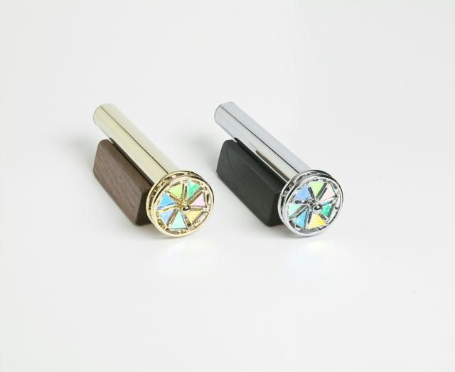 Jon Greene Kaleidoscopes - Small Floret Dichroic