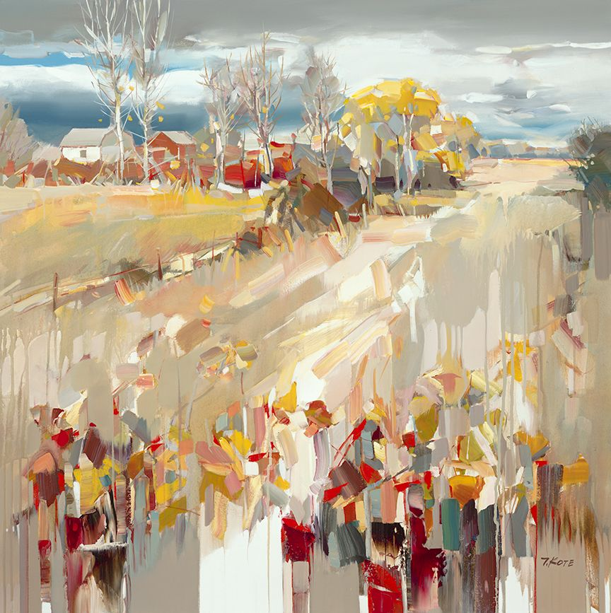 Josef Kote - Entrance To A Field