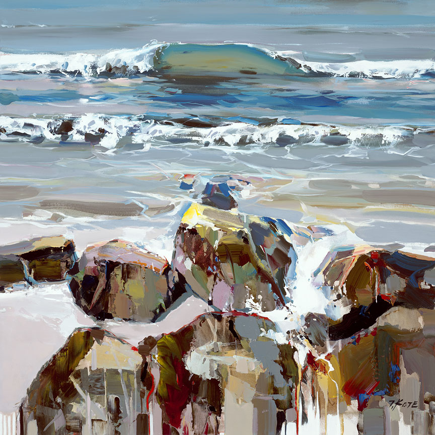 Josef Kote - Ocean Waves
