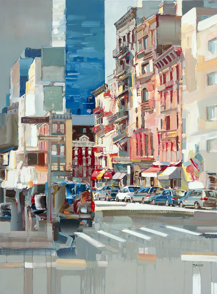 Josef Kote - View From Broome St