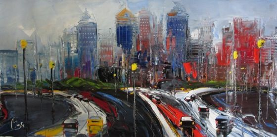 Louis Magre - Atlanta Skyline