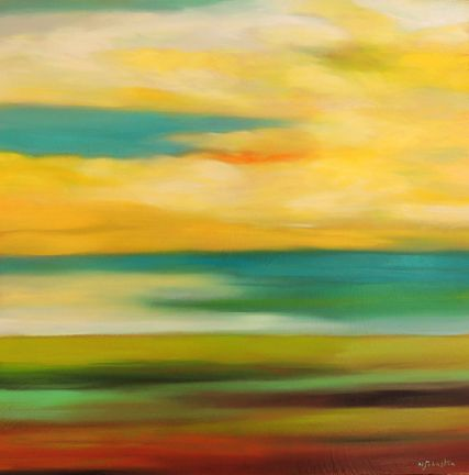 Mary Johnston - Yellow Clouds