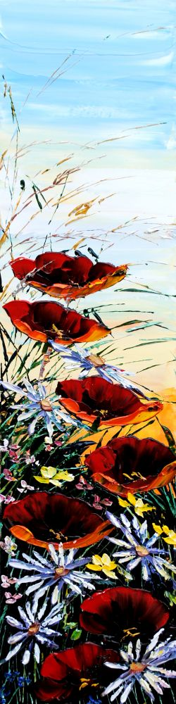 Maya Eventov - Crimson Poppies
