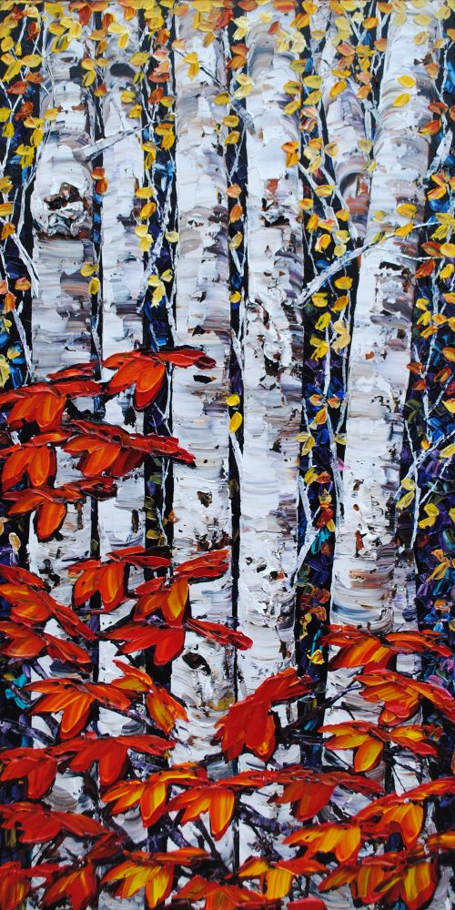 Maya Eventov - Night Birch