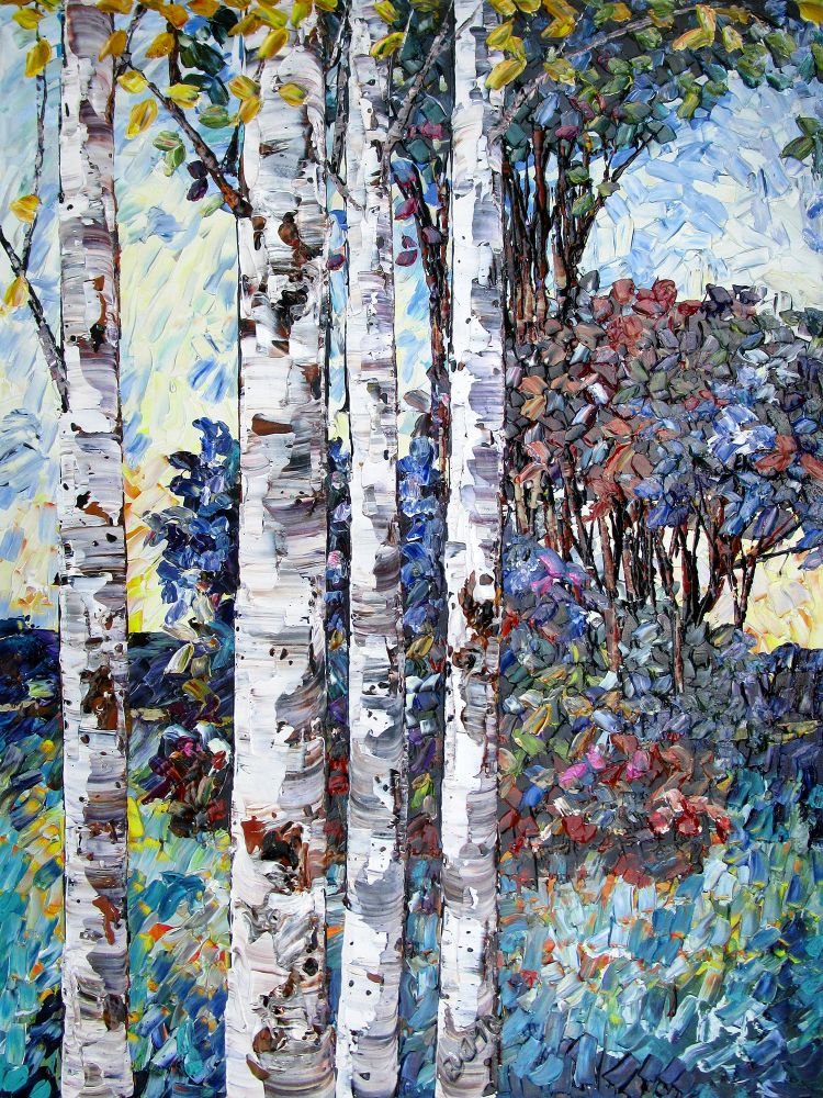 Maya Eventov - Summer Trees 2
