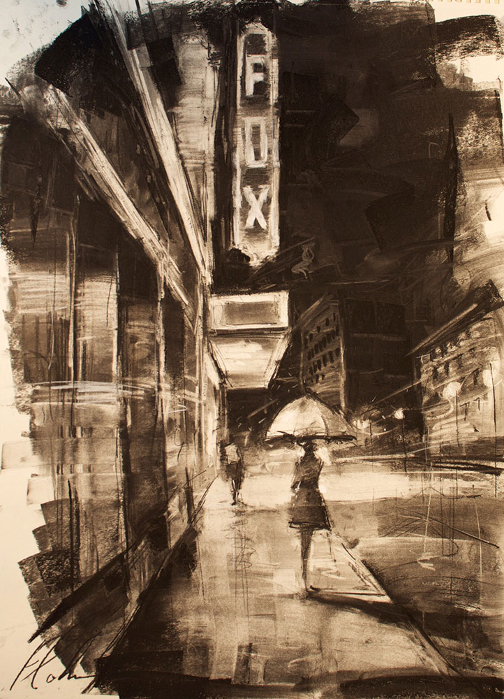 Michael Flohr - Fox Charcoal