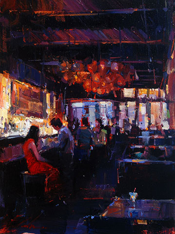 Michael Flohr - Golden Light at Fontaines