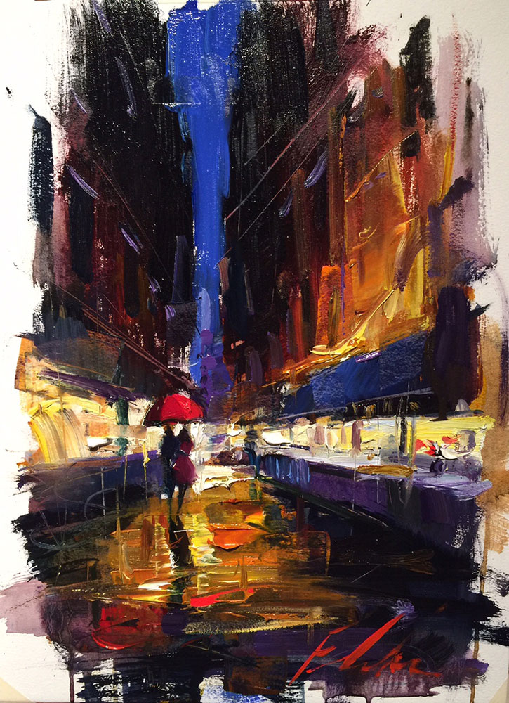 Michael Flohr - Oil Study