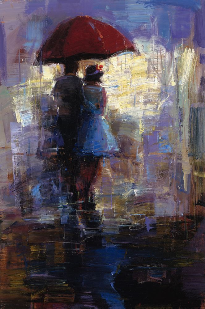 Michael Flohr - Red Umbrella