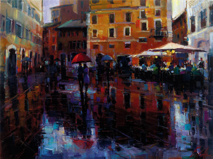Michael Flohr's - Romance in the Rain