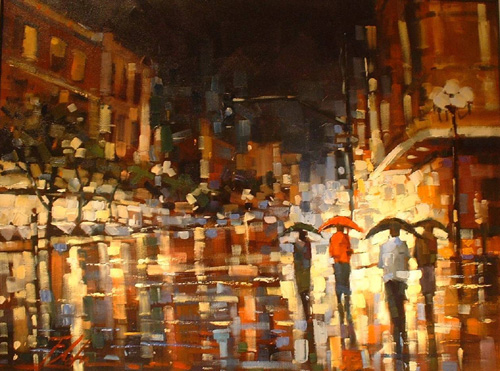 Michael Flohr's - Stacatto Rain