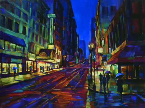 Michael Flohr's - Streets of Gold