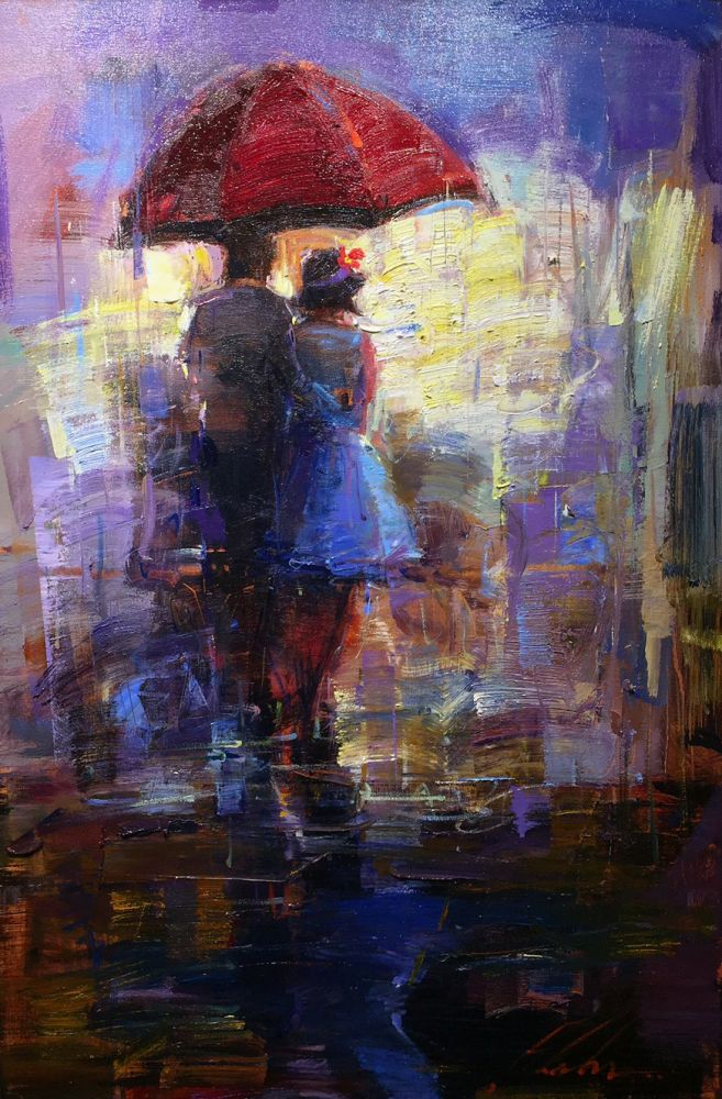 Michael Flohr - The Red Umbrella