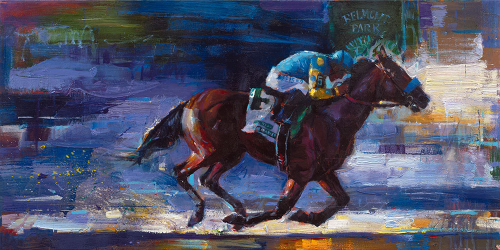 Michael Flohr's - Win at Belmont