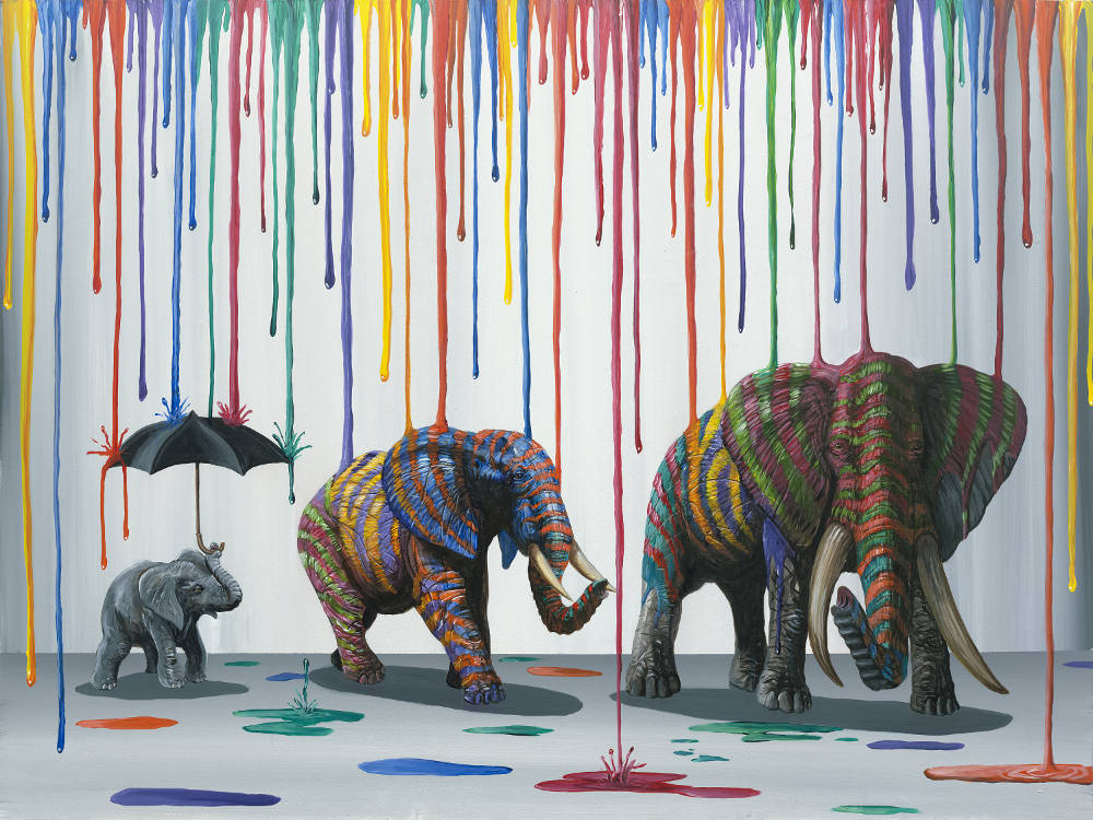 Michael Summers - Elephant Parade