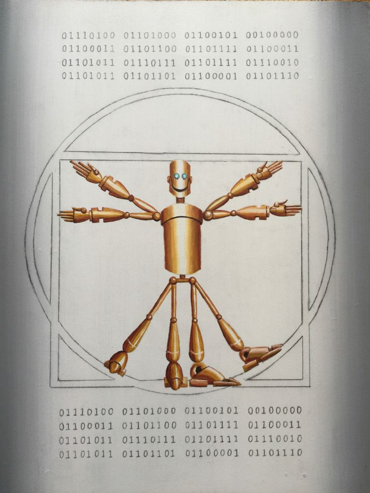 Michael Summers  - Vitruvian Clockworkman