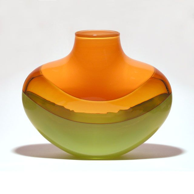 Michael Trimpol - Flat Banded in Tangerine Sunshine Lime