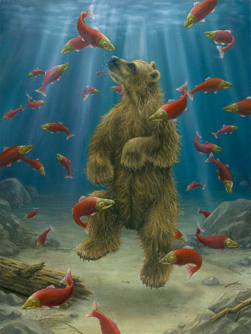 Robert Bissell - The Swimmer